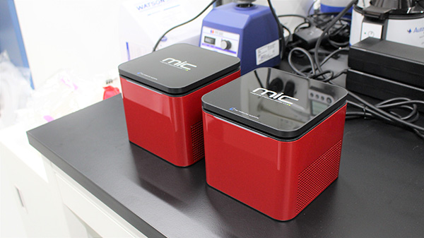Mic magnetic induction cycler(Bio molecular system)